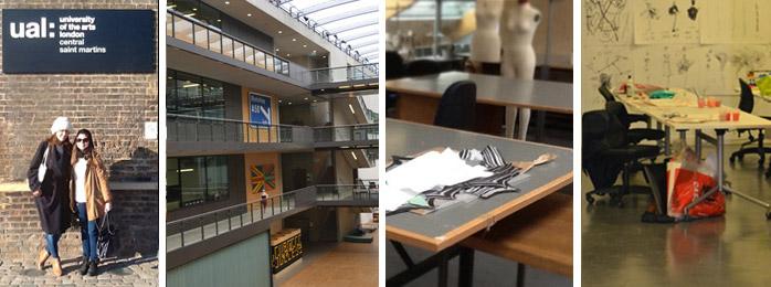 De la UP a la Central Saint Martins University of Arts London