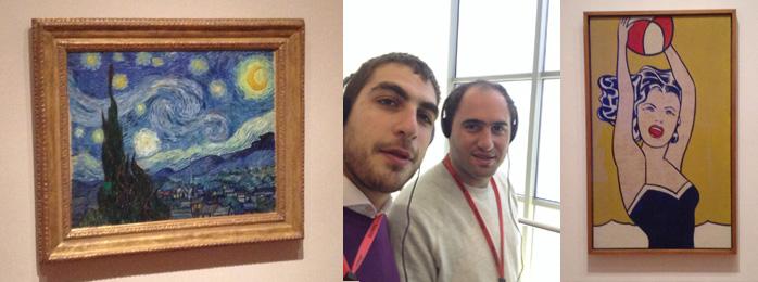My Path at MOMA. Recorrimos el Moma en NY en busca de grandes artistas.