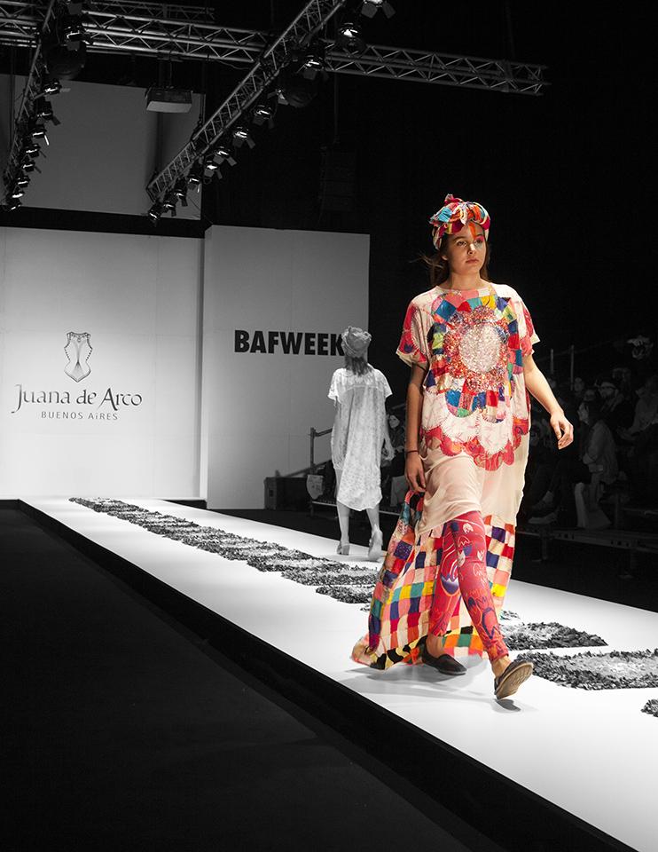 """BAFWEEK 2015.  GRUPO RITEX + JUANA DE ARCO. UNA HISTORIA  """"DEL CHACO A JAPON"""". Industria y Diseño Argentino."""