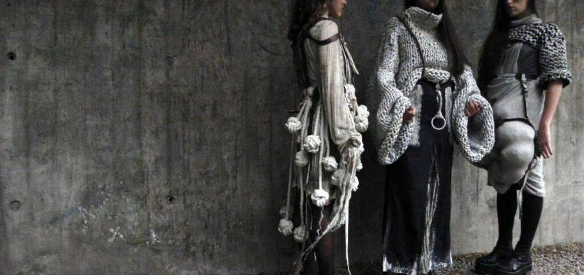 Obras de arte Textil en la UBA con tejidos Grupo Ritex