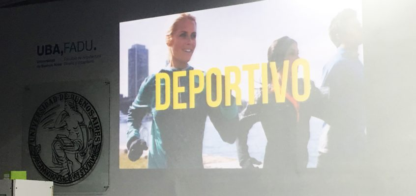 DESFILE FINAL CÁTEDRA HERNÁNDEZ UBA 2016. DEPORTIVOS CON NUESTROS TEJIDOS